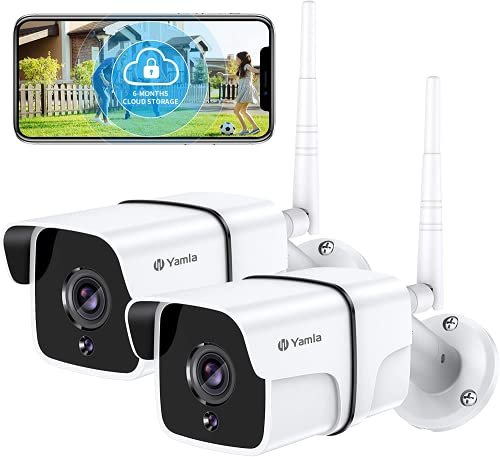Security Camera Outdoor, Yamla 1080P WiFi Home