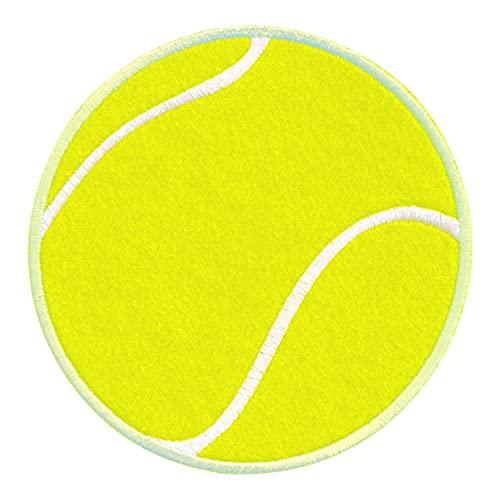 PatchMommy Pelota de Tenis y Bates Parche Termoadhesivo Parche Bordado para Ropa - Parches Infantiles y Apliques para Niños