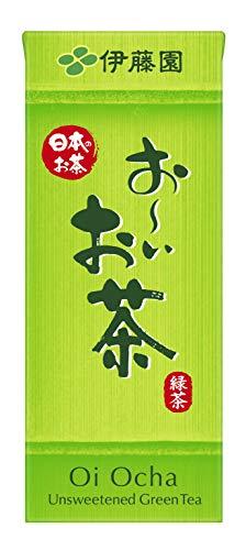 スマートマットライト 伊藤園 おーいお茶 緑茶 紙パック 250ml×24本