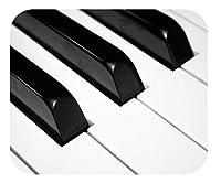 """美しい写真とユニークなデザインのマウスパッド?装飾的で高性能? 2つのサイズ?厚い天然ゴム、滑り止めなし(大9.25 X 7.75 X 1/4""""、ピアノキー)"""