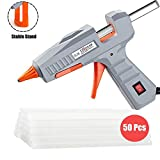 Hot Glue Gun, 30W High Temp Heavy Duty Mini Hot Melt Glue Gun Kit with 50pcs Refill Sticks(4.73'' x 0.27