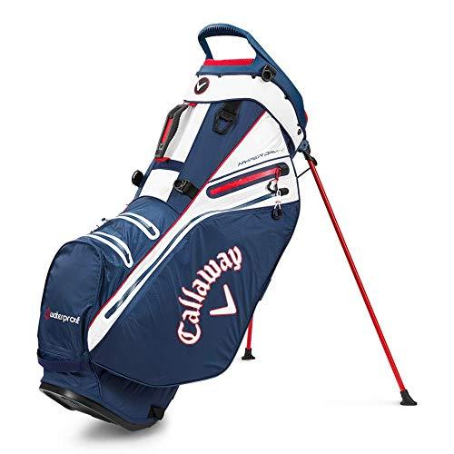 Callaway Sac de Golf Hyper Dry 14 avec Support Bleu Marine/Blanc/Rouge Taille Unique