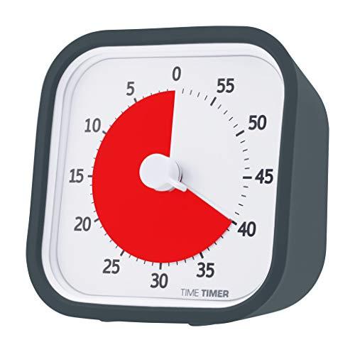 Time Timer® Time Timer MOD (Charcoal Gray) タイムタイマー モッド (チャコールグレイ) 【 用途いろいろ ...