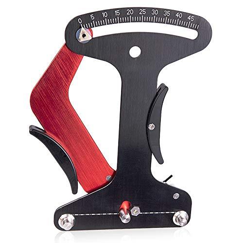 Bici habló tensiómetro de aleación de aluminio de radios inspector medida exacta de la herramienta tensiómetro de alambre de acero de la bici rueda de ajuste de llanta de bicicleta de reparación