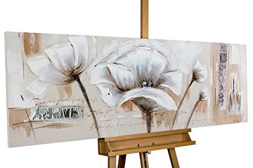 KunstLoft® Acryl Gemälde \'Verblasste Erinnerung\' 150x50cm handgemalt Leinwand Bild