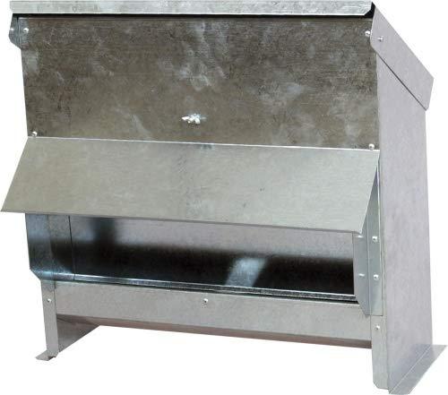 Hemel Futterautomat für Geflügel - verzinkt - (25l)