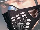 レスプロ RESPRO 大きいパワバルブ装備 メッシュ仕様 スポーツモデル スポーツタマスク ブラック M