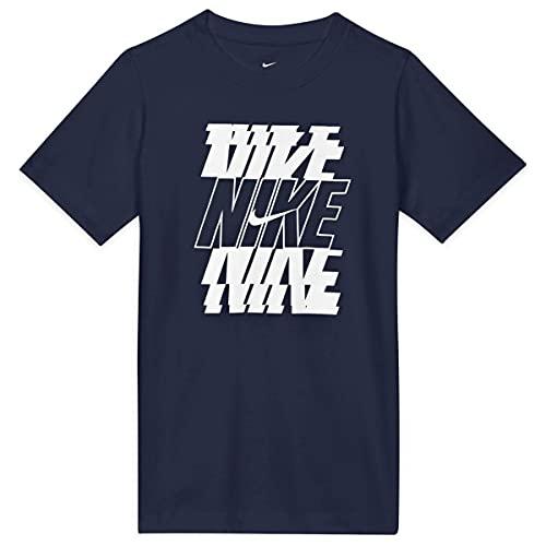 NIKE Big Kids Sportswear Camiseta Niño - algodón Talla: XL