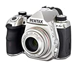 Pentax K-3 Mark III Flagship APS-C Silver Camera Body with Pentax K-Mount HD DA 40mm f/2.8 40-40mm Fixed Lens for Pentax KAF Cameras (Limited Silver)