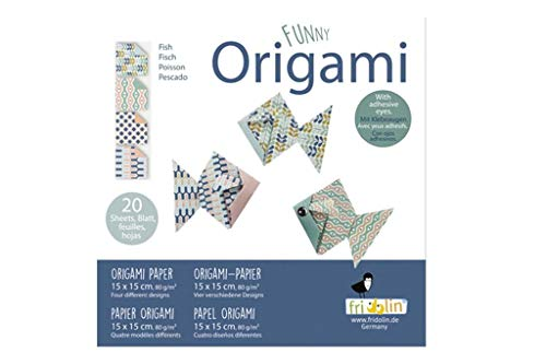 Fridolin Funny Origami 15x15: peces
