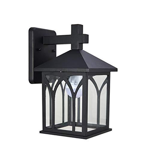 MJSM Light Wandlamp, retro creatief, nu met naam van de buitenruimte, balkon, tuin, waterdicht, buitenlamp
