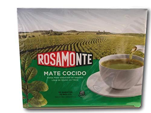 Yerba Mate Rosamonte - Mate Cocido - 50 tea bags