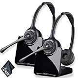 Plantronics CS520 Wireless Headset System Bundle - 2 Pack