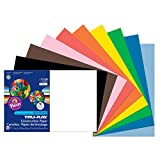 Tru-Ray Construction Paper, 10 Classic Colors, 12' x 18', 50 Sheets