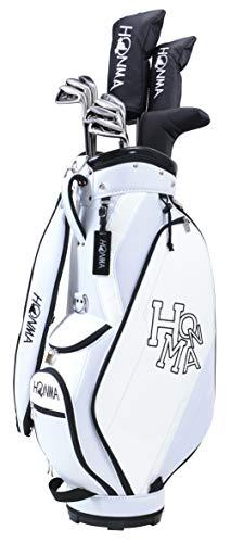本間ゴルフ HONMA D1 クラブセット 10本 キャディバッグ ヘッドカバー 付き ホワイト S