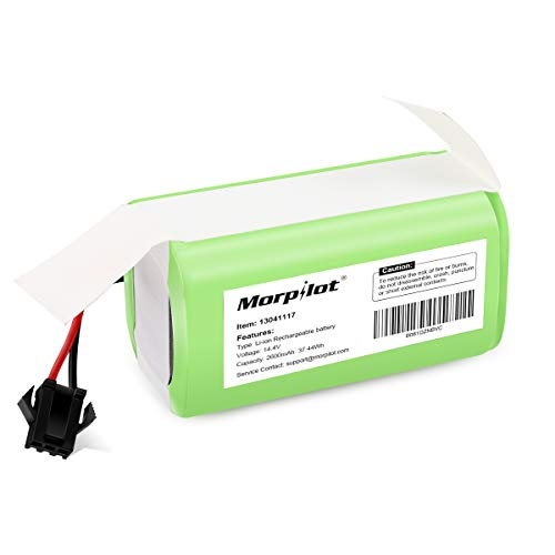 14.4v 2600mAh Li-ion Rechargeable Replacement Battery Compatible with Ecovacs Deebot N79S, DN622, Eufy RoboVac 11, 11S,11S MAX, 30, 15C, 15T, 12, 35C