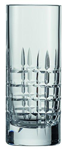 Schott Zwiesel Basic Bar Selection Longdrinkglas, Glas, transparent, 14 x 7 x 16.7 cm, 2-Einheiten