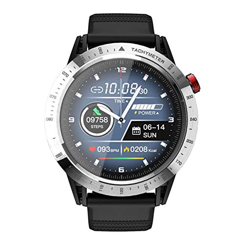 JIAYU SmartWatch con 10 Funciones rastreador de Ejercicios, sueño del Monitor, Multi-Deporte Que se Ejecuta esquí Watch, SmartWatch for Android y IosPhones Full-Pantalla táctil IP68 Impermeable Reloj