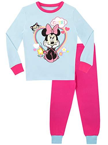 Disney Mädchen Minnie Mouse Schlafanzug Slim Fit Mehrfarbig 92