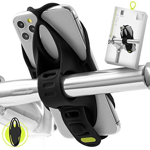 Bone Collection Bike Tie 4 (Gen 4) Handyhalterung Fahrrad für 4,7-7,2 Zoll Smartphones, Face ID kompatibel, Ultraleicht Fahrrad Handyhalterung