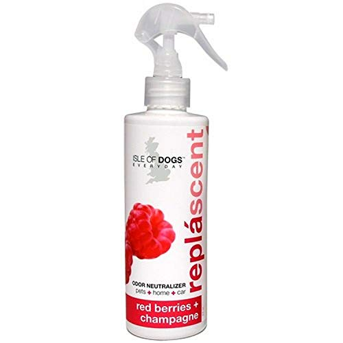 Isle of Dogs Replascents Odor Neutralizing Spray, Red Berries & Champagne, 8 Ounce
