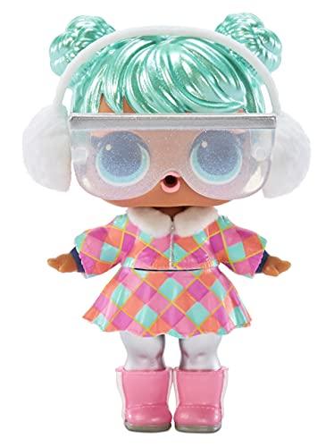 LOL Surprise Winter Chill Confetti Surprise - Muñecas - Caja con 15 sorpresas que incluyen 1 muñeca, ropa, accesorios, sorpresa de agua, disfraz misterioso y más - Coleccionable - Edad: 4+ años