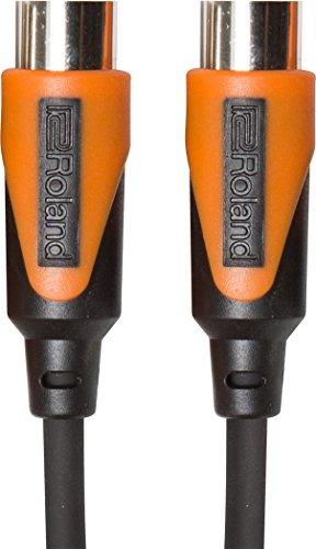 Cable MIDI de la serie Black de Roland, 6 m de longitud -