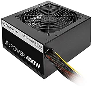 Thermaltake Litepower 450W Power Supply - 230V ATX 12V 2.3 6+2pin PCI-E Connector x 2 Quiet Fan - Black
