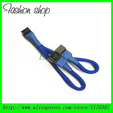 Cable Length: 15CM Cables /& Connectors 12V 4 Pin PC Fan Power Y Cable Splitter Extension Cable Wire-