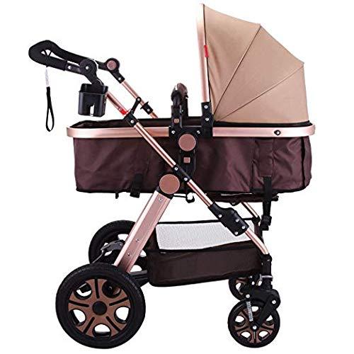 Happybuy Foldable Luxury Baby Stroller