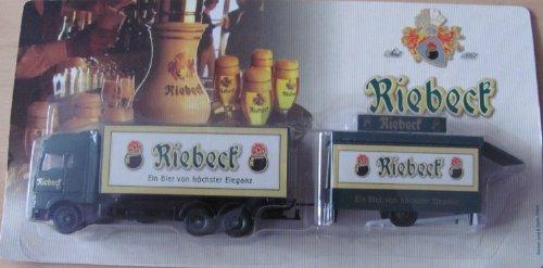 Riebeck Nr.09 - EIN Bier von höchster Eleganz - Man - Hängerzug mit Schankwagen
