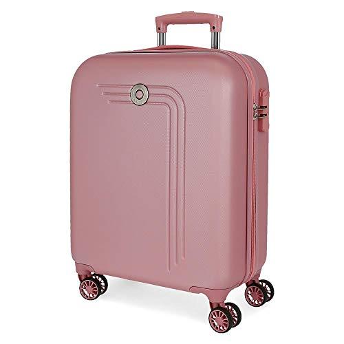 Movon Riga, cabine-koffer, 55 cm, roze