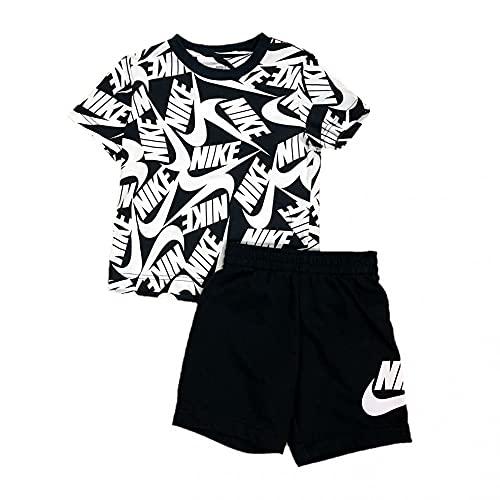 Nike Conjunto de pantalones cortos de 2 piezas para niño - - 7