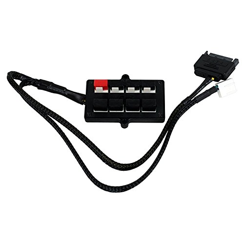 Swiftech 8-Way PWM Splitter with SATA Power Connector