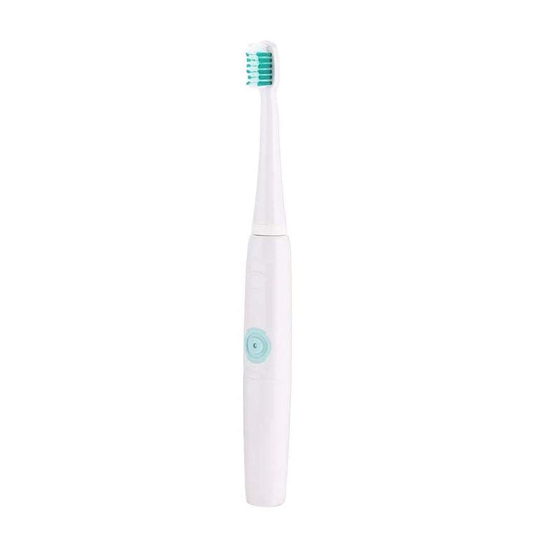 に沿ってペンフレンド遷移電動歯ブラシ、多機能歯ブラシ、充電式超音波電動歯ブラシ、誘導充電、成人子供(色:青)