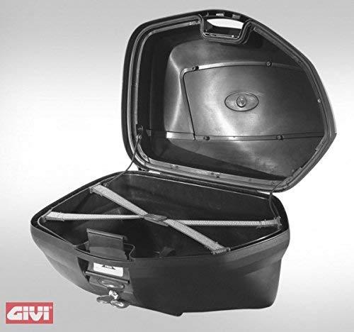 Givi V35N Monokey Side Baúl Lateral con Cover Negro, Carga Máxima 10 Kg