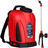 Tomahawk 4 Gallon Battery Powered Backpack Sprayer with Lithium Ion Battery for Pest Control and Disinfectants