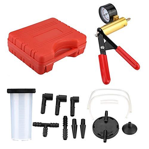 Aspiradora Manual de Mano   Kit de Herramientas de sintonizador de Prueba de Purga de Freno y Bomba de vacío para automóviles y Camiones
