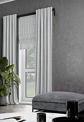 marburg Tapete Anthrazit Schwarz Struktur für Schlafzimmer oder Wohnzimmer Vliestapete 100% Made in Germany PREMIUM QUALITÄT 10,05 x 0,53m