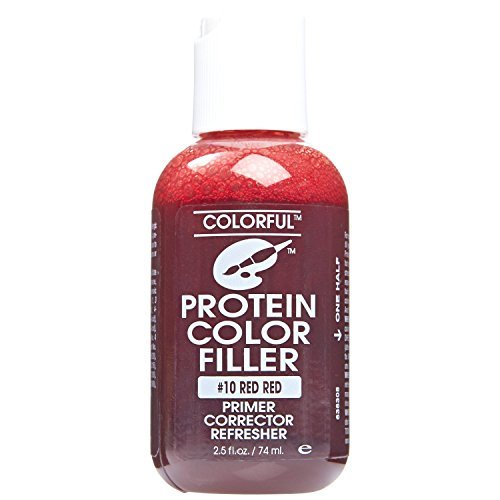 #10 Red Red Colorful Protein Filler by Colorful Products