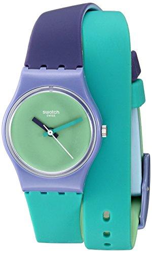 Swatch Originals lv117Multi de la mujer reloj de cuarzo de silicona Swiss