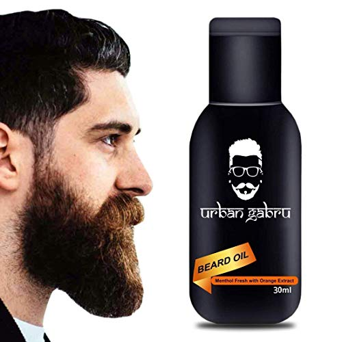 UrbanGabru Beard Oil :Growth   Softener   Conditioner   100% Natural- 30 ml