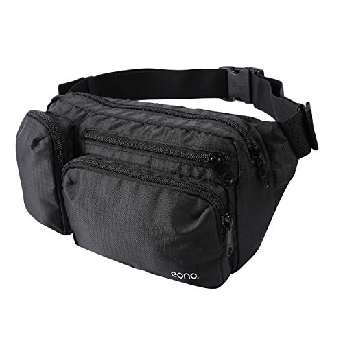 Eono by Amazon - Water Resistant Bum Bag with Multi-Pockets, Large Capacity...