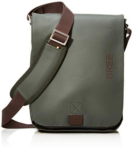 BREE Collection Unisex-Erwachsene Pnch 52, Shoulder Bag W18 Schultertasche, Grün (Climbing Ivy), 26x6.5x21 cm