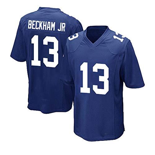 JUUK 13 # Beckham Giants Camisetas de fútbol exquisita mano de obra deportiva ropa de otoño ser muy buena deshumidificación y transpiración, tela suave a medida para los fans
