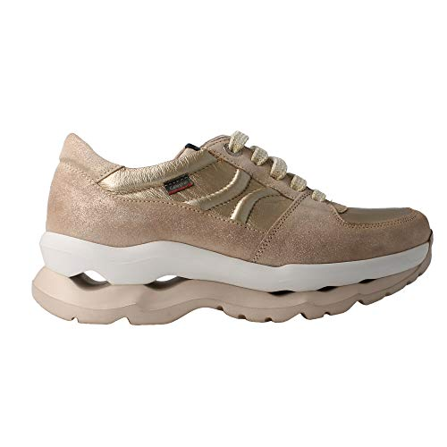 Callaghan Zapato Deportivo para Mujer Color Platino - Bugs Talla: 41