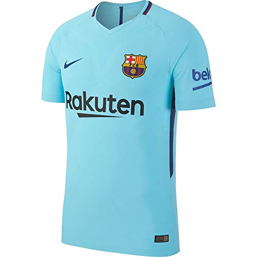 NIKE Performancefc Barcelona Vapor Away 2017/2018 - Camiseta Deportiva - Polarized Blue/Deep Royal Blue