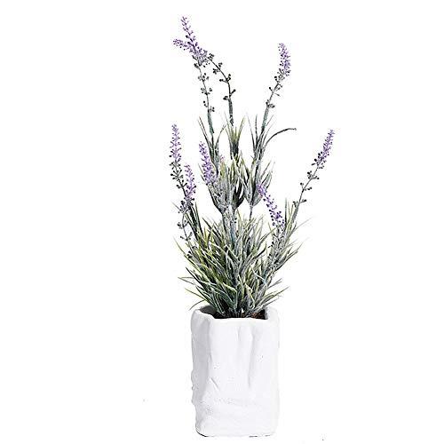 hongyupu Pflanze Künstliche Pflanze Zimmerpflanzen Büro-Dekor Topfpflanze Innen Pflanzen im Freien Pflanzen dekorativ Gesichtspflanzen Indoor Small