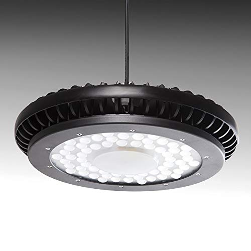 Greenice | Campana LED UFO IP65 90º 200W 22000Lm 50.000H | Blanco Natural