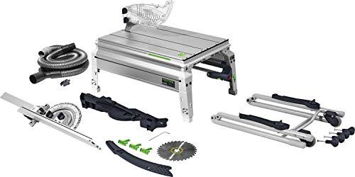Festool Tischzugsäge CS 50 EBG PRECISIO Herstellernr. 574765, Schwarz/Grün